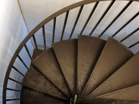 escalier béton ciré ardoise