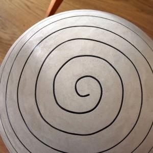 Création Béton et Lumière Flore Molinaro, modèle spirale