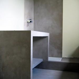 Salle de bain en béton ciré Flore Molinaro